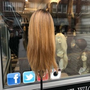 Accessories - Wig ombré blonde brown sake 2019 hairstyle new wig